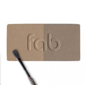 Fab Brows Duo, Light Brown and Medium Brown.