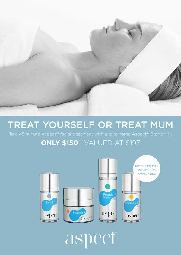 Mothers Day Facial Gift