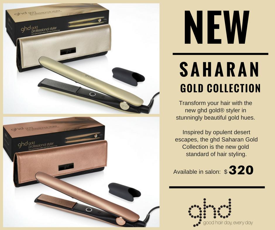 ghd Saharan Gold Collection