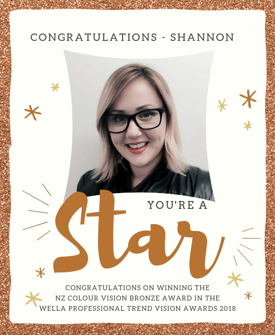 Congratulations on Award Shannon