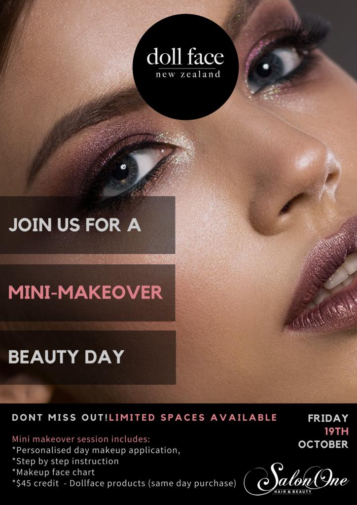 Salon One Dollface Beauty Day