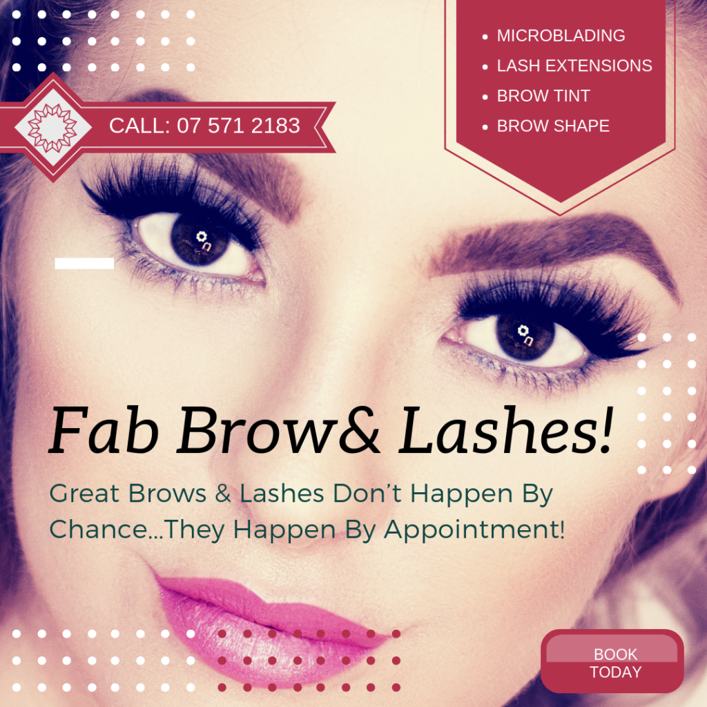 Brows, Lash Extensions