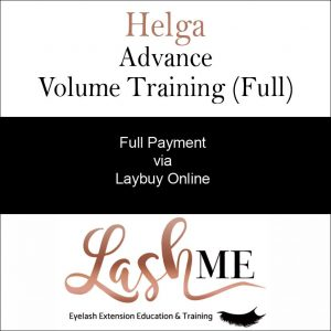 Helga Volume Lash Training Course full