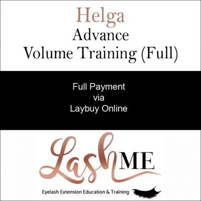 Helga Volume Lash Training Course full