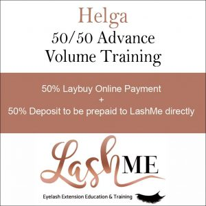 Helga Volume Lash Training Course half payme