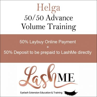 Helga Volume Lash Training Course half payme