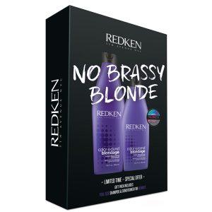 Redken No Brassy Blonde Christmas Gift Pack